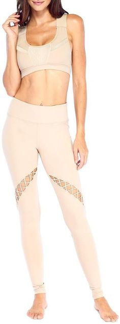 Electric Yoga Twisted Crisscross Cutout Leggings  Twisted Yoga Electric Cut  Out Leggings, 5892d564845b