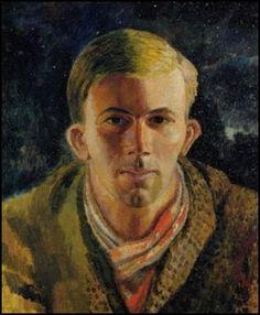 Dora Carrington's painting of Gerald Brenan.