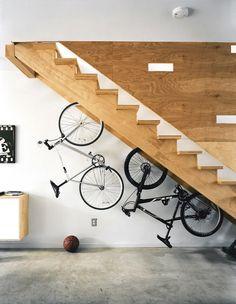 How to store bicycles / Como guardar bicicletas