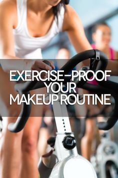 Here's the makeup that's safe and subtle enough to wear in boot camp or yoga class—if you so desire! Workout Makeup, Gym Makeup, Makeup Tips, Hair Makeup, Beauty Tutorials, Beauty Tips, Beauty Hacks, Hair Beauty, Beauty Makeover