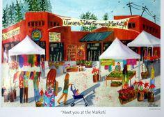 Oldest Farmer's Market in the state of Alaska. Tanana Valley Farmer's Market, in Fairbanks. Opening May 12, 2012.
