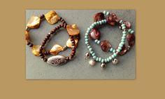 Armbanden mooi bij natureltinten