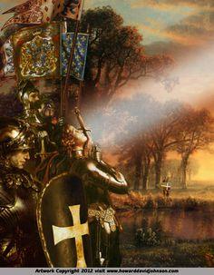The Legendary King Arthur The Johnson Galleries Reprint 012 - Howard David Johnson
