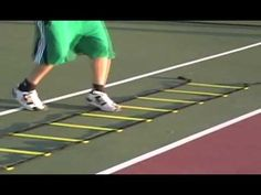 Agility ladder training helps improve foot speed and directional force distribution. Basketball Tricks, Basketball Practice, Basketball Is Life, Basketball Skills, Hockey Training, Agility Training, Speed Training, Alabama Football Funny, Agility Ladder Drills