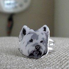 Shrinky Dink ring!
