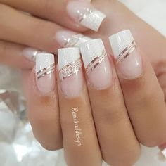 Emili Costa (emilinaildesign) photos and videos French Manicure Nails, French Nails, Gel Nails, Best Acrylic Nails, Acrylic Nail Designs, Nail Art Designs, Chic Nails, Stylish Nails, Nagel Hacks