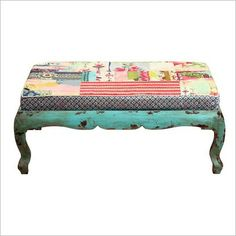 Kelly Rae Roberts Vintage Bench Phil Bee Interiors