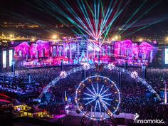 """I love the atmosphere at EDC, the motto is """"Come in peace or don't come at all"""". Everyone is so excited to be there and make new friends."""