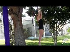 Aerial silks and Aerial Hoop Strength training! Best video i'v found so far <3
