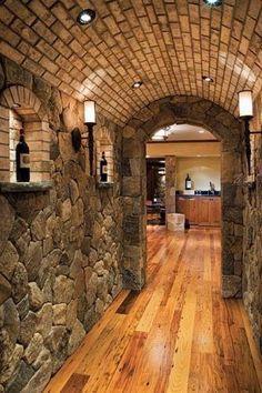 Bricks for Basement Ceiling