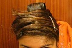 turbante para alisar el cabello - 1solo intento (sin éxito)