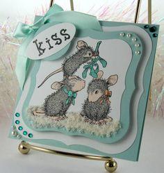 House Mouse - Mistletoe Moment card
