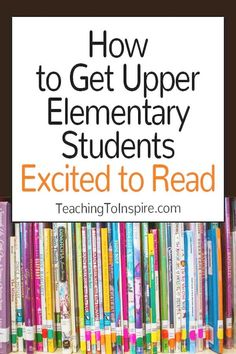 Teaching Reading: If you teach or grade readers, definitely check out this post for lots of practical ideas to get your students excited to read. Library Activities, Reading Activities, Teaching Reading, Educational Activities, Guided Reading, Reading Resources, Reading Projects, Reading Books, 6th Grade Activities