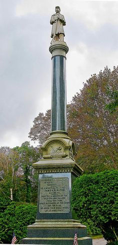 The Soldiers' and Sailors' Monument in Sandwich, Cape Cod