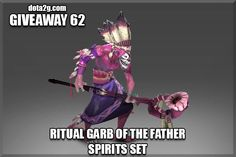 Giveaway 62 - Ritual Garb of the Father Spirits Set