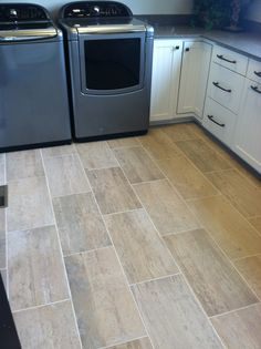Hex tile laundry room floor Laundry Room Pinterest Laundry