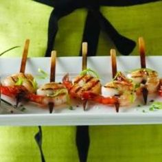 Shrimp Lollipops with Pineapple Chili Dipping Sauce