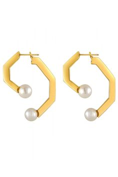 Get the instant cool factor with these statement earrings.