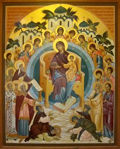 All Creation Rejoices | photo of a large icon by Fr. Theodor… | Flickr