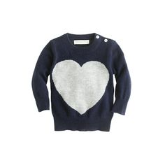 Collection cashmere baby sweater in heart me - crewcuts cashmere sweaters - Girl's crewcuts cashmere - J.Crew