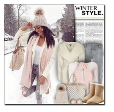 """""""#703 - Winter Style"""" by lilmissmegan ❤ liked on Polyvore featuring Nicki Minaj, Dsquared2, Exclusive for Intermix, Majestic Filatures, rag & bone, Louis Vuitton, UGG, Charlotte Russe, GetTheLook and Winter"""