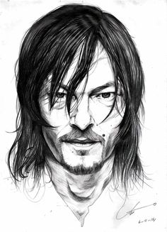 Daryl Dixon - The Walking Dead on Behance