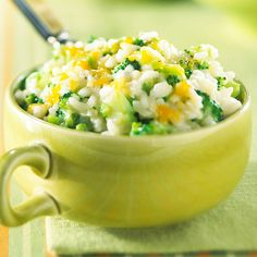 Easy Cheesy Broccoli and Rice recipe