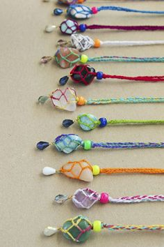 Kid Friendly Bling: 6 DIY Necklaces
