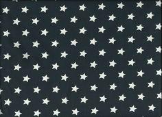 Jersey blau mit weissen Sternen von Babischka auf DaWanda.com
