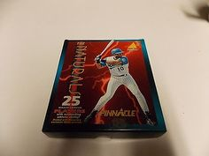 1994 PINNACLE THE NATURALS COMPLETE 25 CARD SET MINT GRIFFEY RIPKEN PIAZZA BONDS