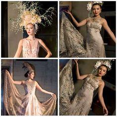 SUE WONG 'ALCHEMY & MASQUERADE ' FASHION INSTALLATION PT 3. Photos courtesy of Greg Doherty; Headdresses: Betty Long--What a Betty & Maritza Regalado--Atzi Designs; Makeup/Hair: Noreen Taylor Diani--The Organic Face; Jewelry: Vilaiwan Fine Jewelry...#LAFashion #Couture #SUEWONG #TheOrganicFace #FashionInstallation
