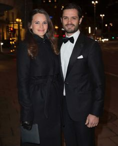 NewMyRoyals:  Princess Sofia and Prince Carl Philip attended a charity dinner in honor of Project Playground, which Sofia helped co-found, Stockholm, November 26, 2015
