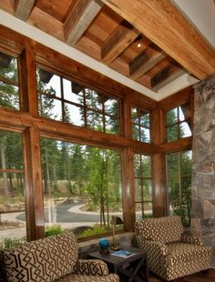Truckee, CA home - traditional - Spaces - Other Metro - Trestlewood
