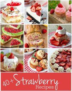 40+ strawberry recip