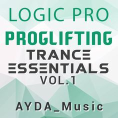 Featured File on www.producerbox.com Proglifting Trance Essentials Logic Pro Template Vol. 1 (ASOT Style) Listen audio demo -> go.prbx.co/27jvcNs