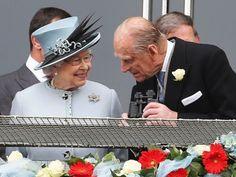 Queen Elizabeth II and the Duke of Edinburgh 6/1/13 Epsom