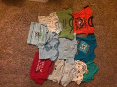 6 month shirts #Swapdom