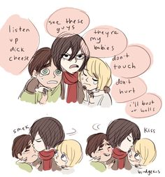Mikasa the mother