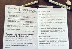 nyaknyak:Linguistics notes!