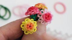 Mini Rose in Bloom Charm Tutorial