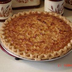 Coconut Custard Pie I - Allrecipes.com