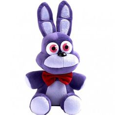 """- 10"""" Original BONNIE PLUSH 10 INCH Toys 4 FNAF - FNAF Toys SIZE:10 inch .Material: PLUSH - Generally delivery takes 8-12 days after shipment with USPS ePacket - Five Nights at Freddy's is the hit new"""