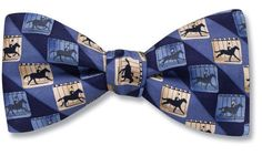 Horse Galloping - bow tie