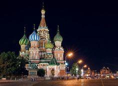 La catedral de san basilio - Rusia