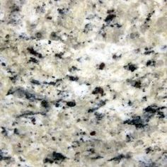 GIALLO FIESTA. Crystals of cream with streaks of grey and brown spots on a creamy white background. Beautiful granite color available at Knoxville's Stone Interiors. Showroom located at 3900 Middlebrook Pike, Knoxville, TN. www.knoxstoneinte... FREE Estimates available, call 865-971-5800.