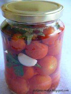 Pomidorki koktajlowe w zalewie