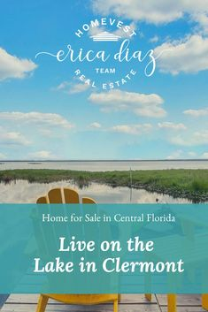 Clermont, Florida Home on Lake Louisa - Erica Diaz Team Florida Living, Florida Home, Clermont Florida, Waterfront Homes, Central Florida, Winter Garden, Estate Homes, Home Buying, Lakes