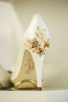 golden rose heels