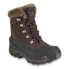 WOMEN'S MCMURDO II BOOT $130- Northface website- 400 grams of insulation rated at -40