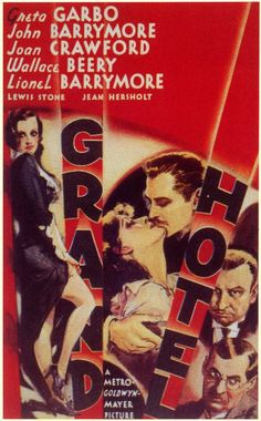 "CAST: Greta Garbo, John Barrymore, Joan Crawford, Lewis Stone, Wallace Beery, Jean Hersholt, Lionel Barrymore; DIRECTED BY: Edmund Goulding; PRODUCER: Irving Thalberg MGM; Features: - 11"" x 17"" - Pack"